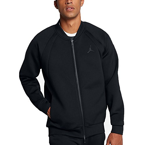 Jordan Air Flight Tech Men's Sportswear Casual Jacket Black 887776-010 (Size 3X) by Jordan
