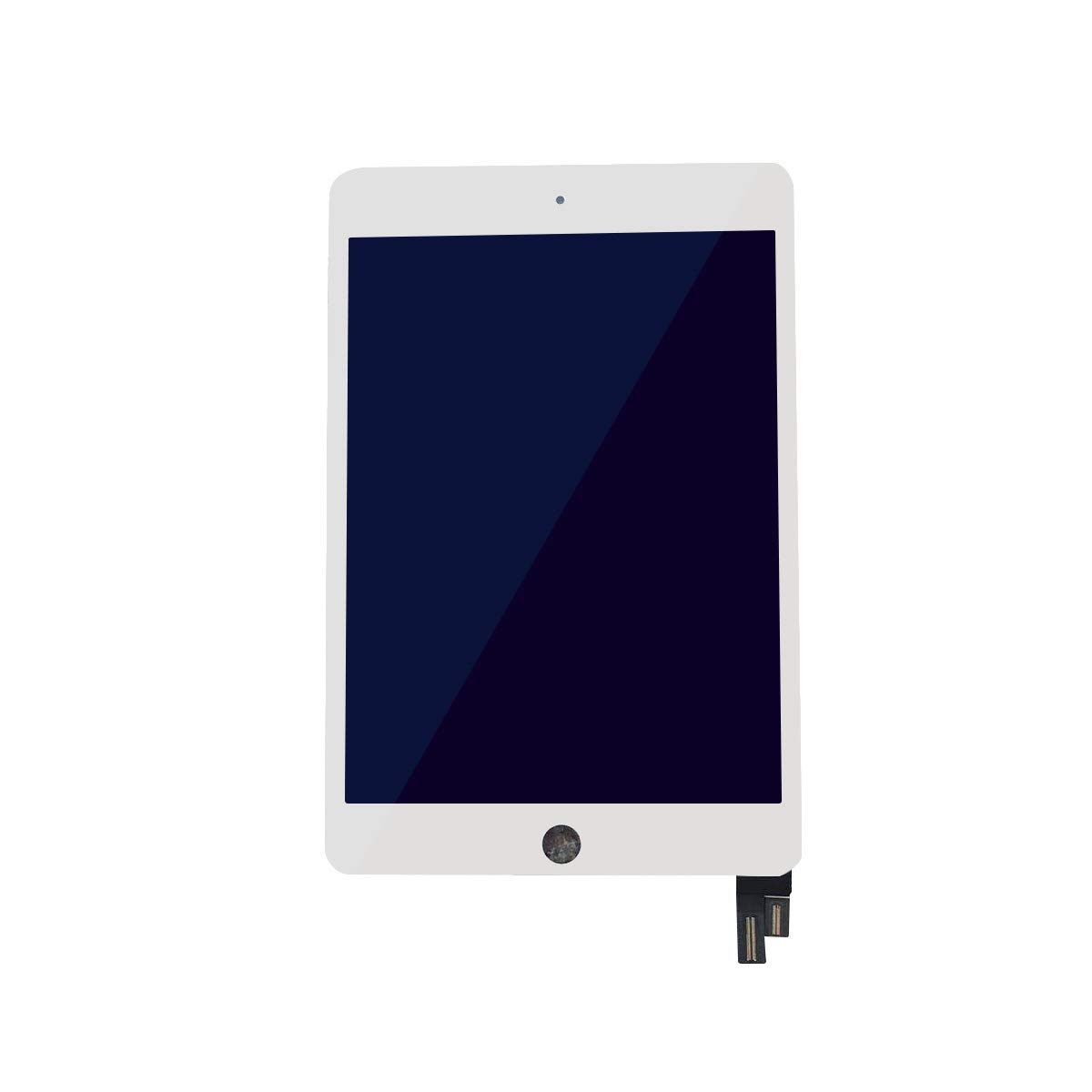 (Swifthorse) Replacement LCD Touch Screen Assembly Compatible with IPAD Mini 4 Model A1538 A1550 (White)+ Free Teardown Tool