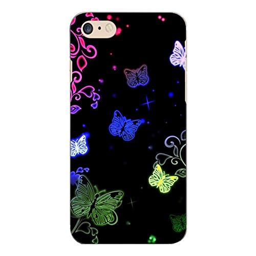 "Disagu Design Case Schutzhülle für Apple iPhone 7 Hülle Cover - Motiv ""Butterfly Neon"""