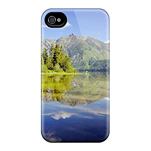 Ultra Slim Fit Hard StaceyBudden Cases Covers Specially Made For Iphone 6- Quiet Mountain Lake