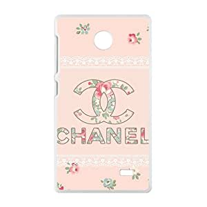 Famous brand logo Chanel design fashion cell phone case for Nokia Lumia X