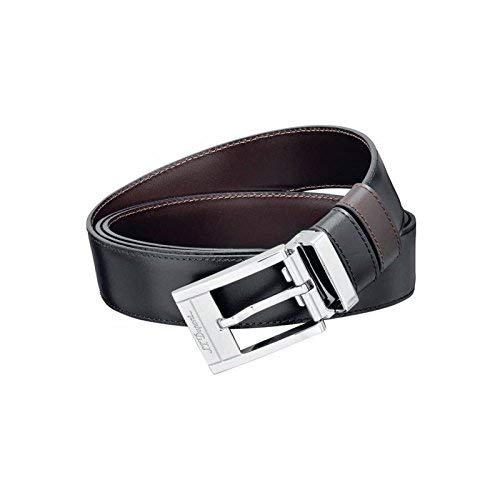 S.T. Dupont D-7920120 business vändbart svart/brunt bälte