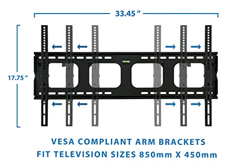 Mount It Tilting Tv Wall Mount Bracket For Samsung Sony