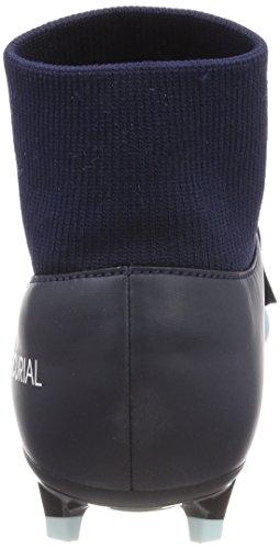 Nike Mens Mercurial Vittoria Vi Dinamico Fit Fg Taglia 12 Ice Ossidiana / Bianco / Gamma Blu