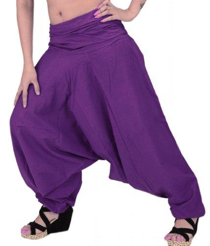 SNS Pure Cotton Harem Pant Indian Trouser Yoga ()