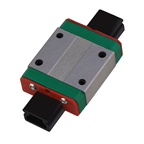 Mxfans 35x27x10mm Guide Rail Sliding Block MGN12C for Precise Measure Equipment