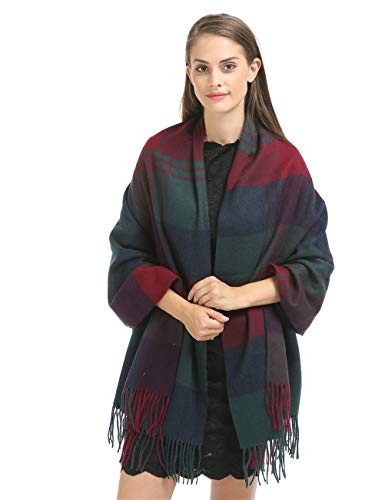 Cashmere Wraps Shawls Stole for Women Winter Large(79