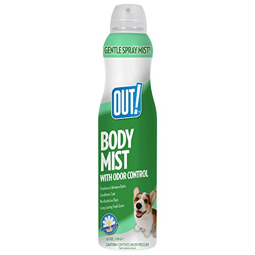 - OUT! Dog Cologne Body Mist Spray | Dog Perfume | Refreshes Coat and Controls Odor Between Baths | 6.3 Ounces