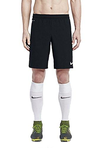 Nike Mens Academy Longer Woven Soccer Shorts, Black/White, XX-Large, 645970 (Nike Longer Woven Shorts)