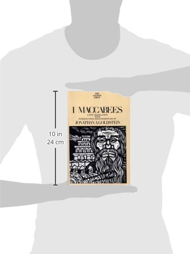 Amazon.com: I Maccabees (The Anchor Yale Bible Commentaries ...