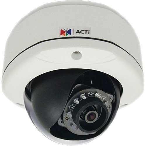ACTi D72 3MP Outdoor Dome with Day/Night Function, Mechanical IR, f2.93mm Fixed Lens