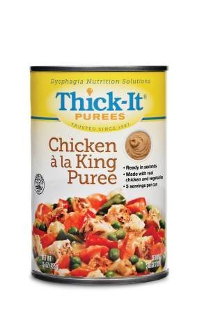 Thick-It Puree 15 oz. Can Chicken à la King Ready to Use Puree, H301-F8800 – Case of 12