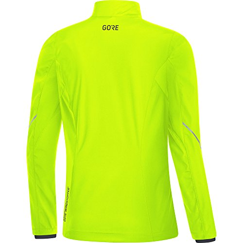 GORE WEAR Women's R3 Partial Windstopper Jacket, Neon Yellow, Small by GORE WEAR (Image #3)