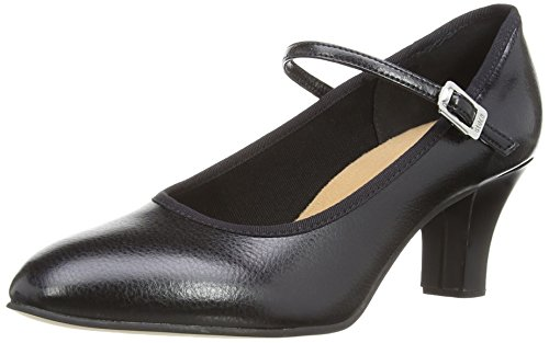 Bloch Kickline - Zapatos de baile de lona mujer Negro (Black)