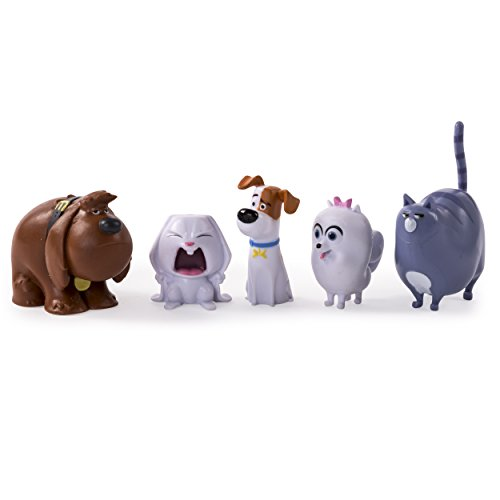 The Secret Life of Pets - Mini Pets Collectible Figures 5-Pack
