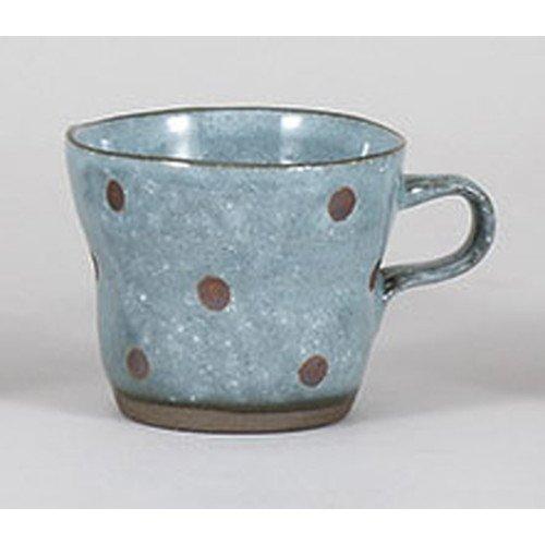 [mkd-803-35-1e] Mug cup rice water ball Blue torsion mug [9.5 x 11.7 x 7.8 cm 300 cc] earthware gourmet inn Japanese-style restaurant eating establishment business ()