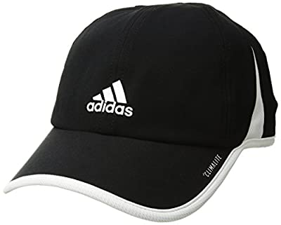 adidas Women's Superlite Relaxed Performance Cap, White/Light Heather Grey, One Size by Agron Hats & Accessories