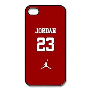 iphone4 4s phone cases Black Jordan logo Phone cover NAS3830748