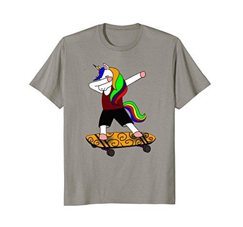 Funny Dabbing Unicorn T-shirt Skateboard Cute Dab Hip Hop