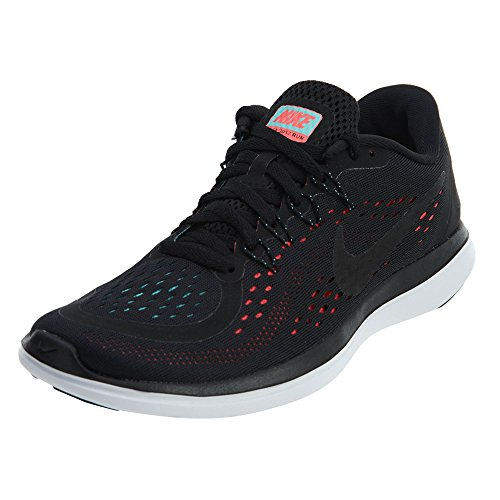 Women's Running Free Shoe Donna RN Scarpe Black Indoor Punch Sportive Black hot Sense Nike dgwId