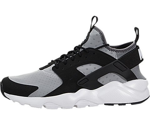 nike air huarache run ultra mens running trainers 819685 sneakers shoes (US 11, wolf grey white black cool grey 010)