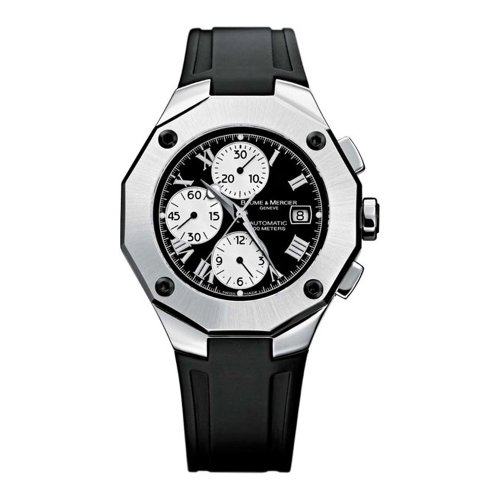 Baume-Mercier-Mens-8594-Riviera-Chronograph-Automatic-Watch