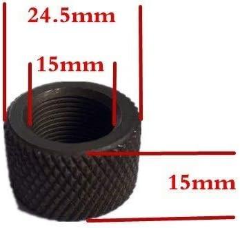 NO LOGO Lixia-Qiang, Magorui 1Pc Acero 0,750 Diámetro 223 308 Compensador Barril de Rosca Protector 1 / 2x28 5 / 8x24 Pitch (Color : .308)