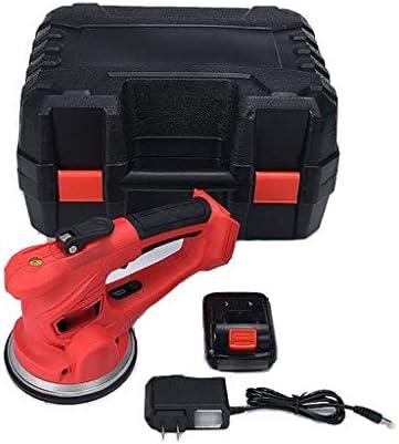 オートレベリング機タイル-18000r / minのインストールツール充電式スマートタイル振動ツールの12Vタイル吸引カップタイル振動子レベラー(2 *電池)