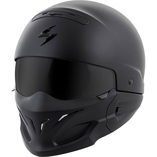 Rated modular motorcycle helmets