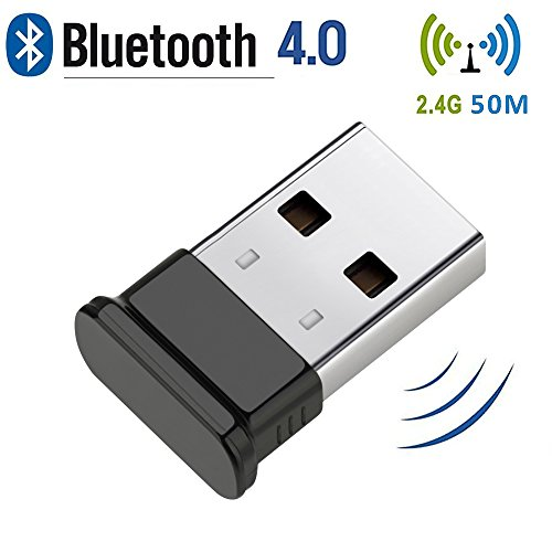 Bluetooth-USB-Adapter-USB-40-Bluetooth-Dongle-with-24Ghz-range-for-Win-10-81-8-desktop-Vista-and-XP-by-KEY-IDEA-Black