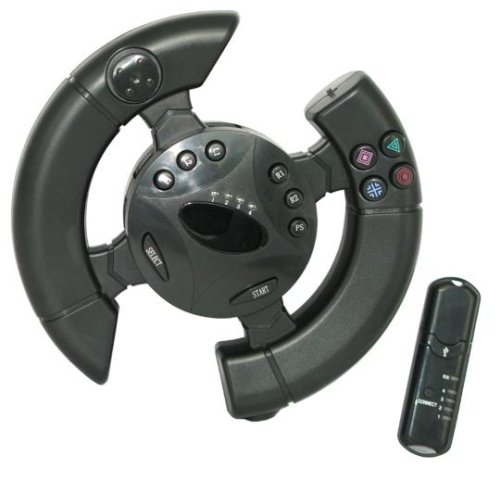 Wireless Racing Wheel for PlayStation 3