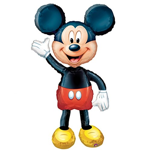 Mickey Airwalker Balloon (Each) - Party Supplies (Airwalker Jumbo Balloon)