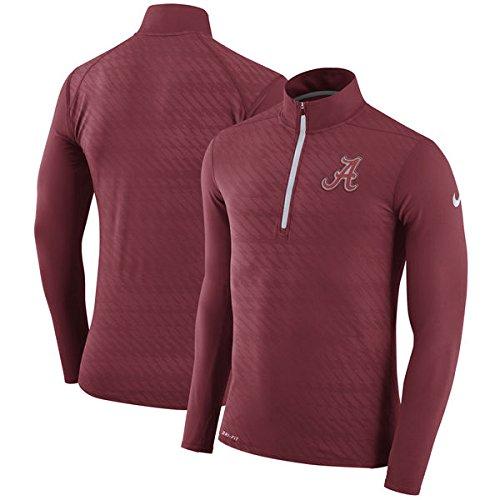 Nike Alabama Crimson Tide Dry Element Quarter-Zip Performance Jacket (Small) (Jacket Performance Nike)