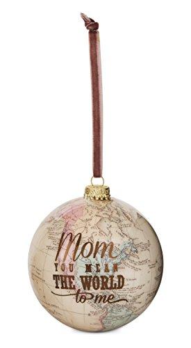 Pavilion Gift Company 61023 Mom Globe Ornament 33/4quot