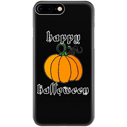 Happy Halloween Cloth Pumpkin White Letters - Phone
