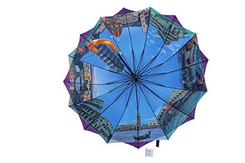 po-campo-rain-street-wood-sticks-umbrella-purple-one-size