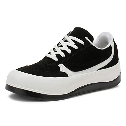 Black White London Sneaker Tower bianco Nero Hoxton Donna YWd0Sw