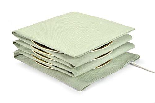 Waterbridge Electric Plate Warmer - Heats up to 15 Large Plates - Devon Light Green by Waterbridge