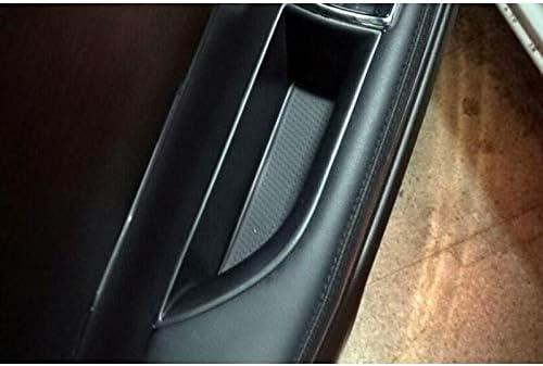 2 Pcs Car Organizer For Jaguar XF 2009-2015 Door Handle Armrest Storage Box Container Hoder Tray Accessories Car Styling Car storage box