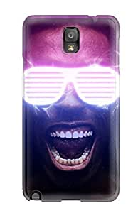Charles C Lee Case Cover For Galaxy Note 3 - Retailer Packaging 3d Protective Case