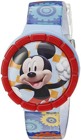 Disney Mickey Mouse Kids' MMCHKD092 Digital Display Quartz Multi-Color Watch Set