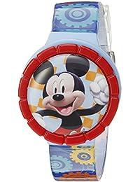 Mickey Mouse Kids' MMCHKD092 Digital Display Quartz Multi-Color Watch Set