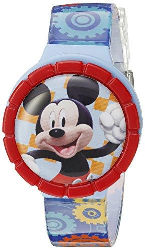Disney Mickey Mouse Kids' MMCHKD092 Digital Display Quartz Multi-Color Watch Set - Disney Interchangeable Watch
