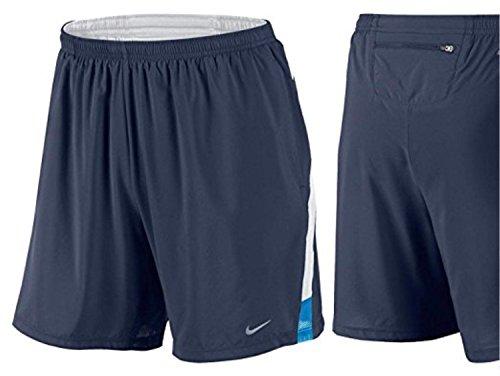 "Nike RUNNING 7"" DISTANCE SHORTS Blue 695441 410 (m)"