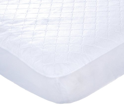 Carter's Keep Me Dry Fitted Quilted Crib Pad 9 (Discontinued) Waterproof- Value Size Pack- 3-Mattresses