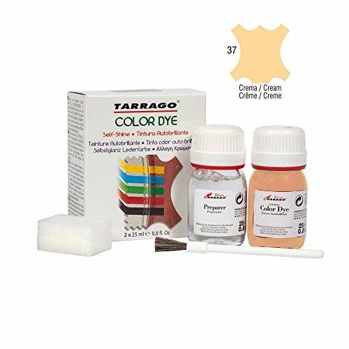 Tarrago Self Shine Color Dye and Preparer 25Ml. Cream #37