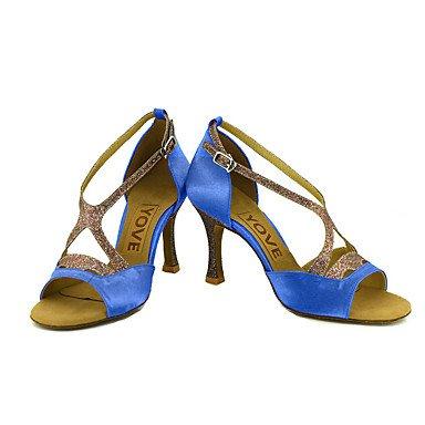 XIAMUO Anpassbare Frauen Beruf Tanz Schuhe, Fuchsia, Us5.5/EU36/UK3.5/CN 35