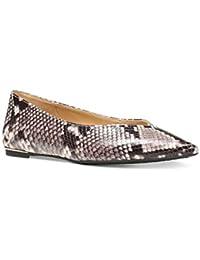 feb5314870 Womens Lizzy Flat Closed Toe Ballet Flats, Natural, Size 8.5 · Michael Kors