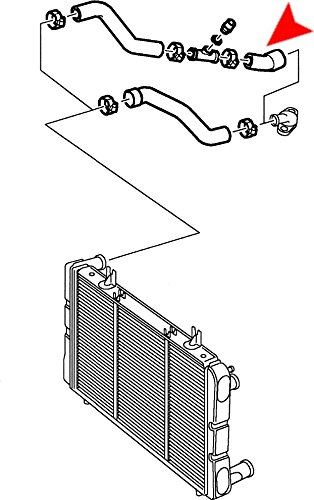 URO Parts 7546161 Radiator Hose