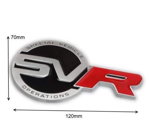Stemma posteriore in metallo SVR.